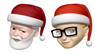 Memoji kerstman