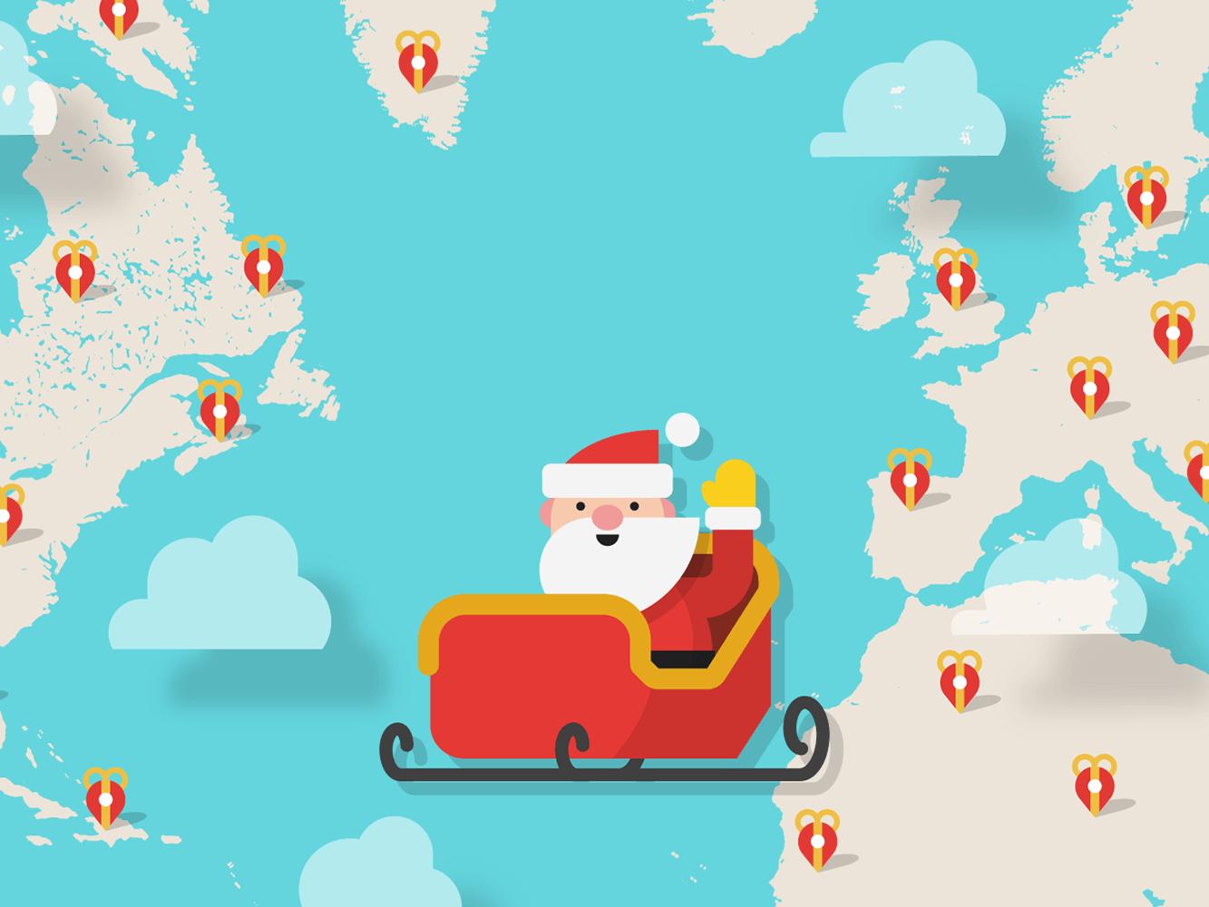 Santa Tracker nieuw op Google