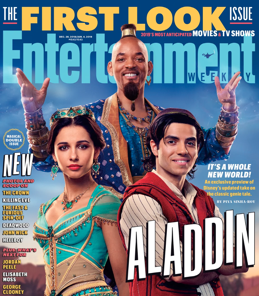 Disney Aladdin Will Smith Genie