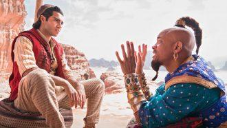 Disney Aladdin Will Smith Genie