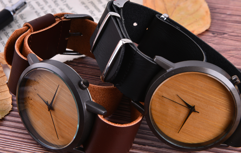 AliExpress houten horloge