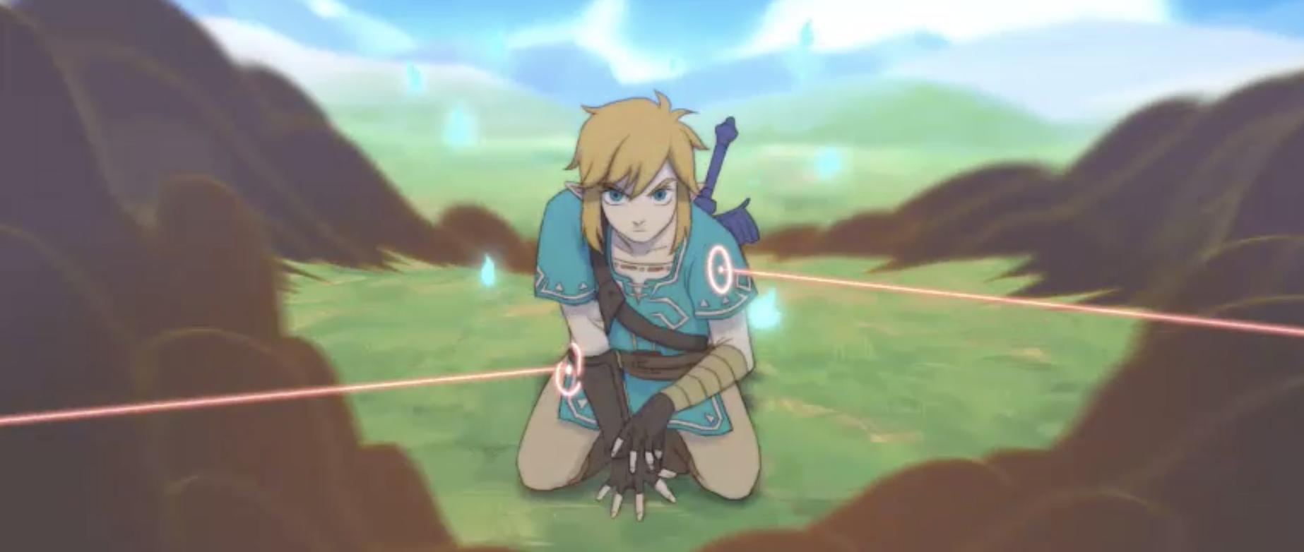 Zelda Breath of the WIld fananimatie