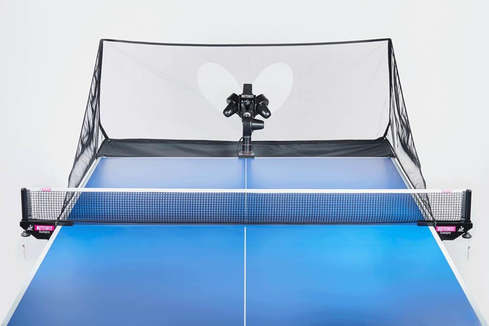 Butterfly tafeltennis robot