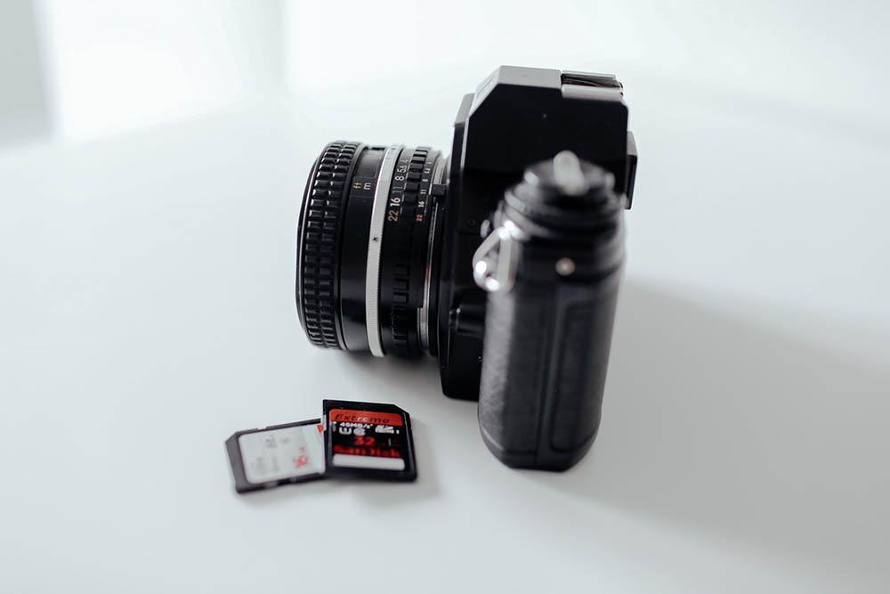camera geheugenkaart