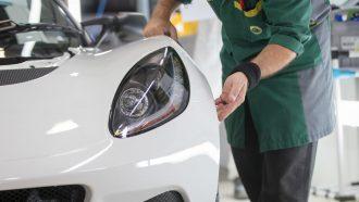 Lotus elektrische auto