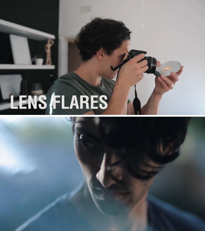 lensflare effect Bored Panda