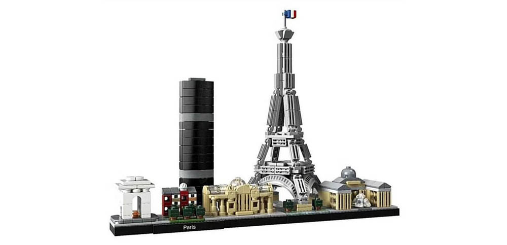 LEGO Architecture Skyline Parijs