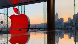 Apple Store Apple logo Apple iPhone XI