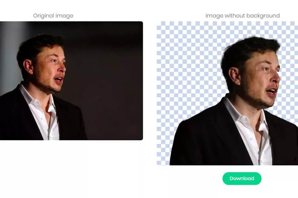 Remove.bg Elon Musk