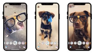 Snapchat honden filters
