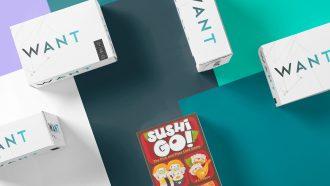 Sushi Go spellenkast