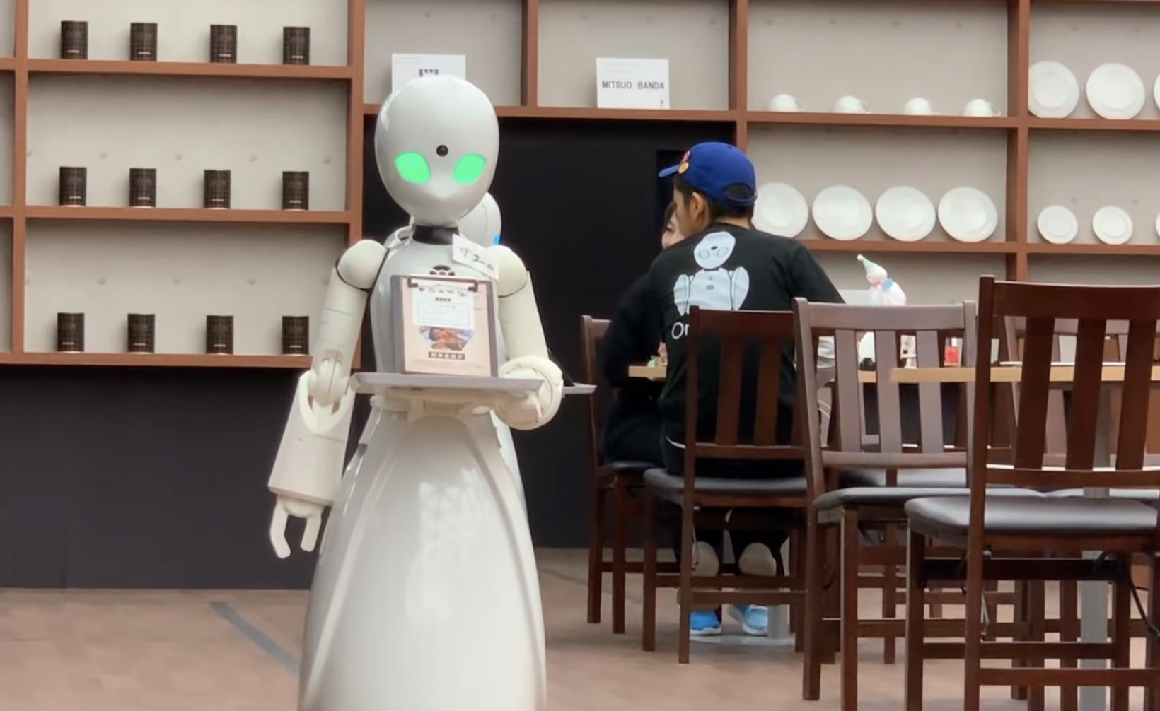 tokio robot cafe