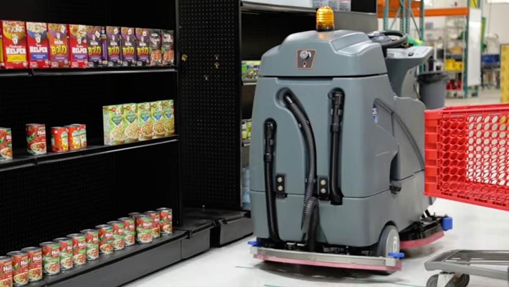 Walmart schoonmaak robot