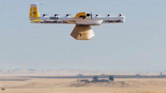 Wing bezorgingdienst drones