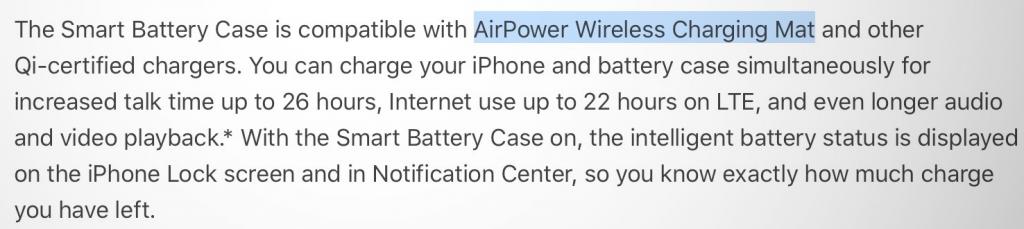 Apple AirPower hint