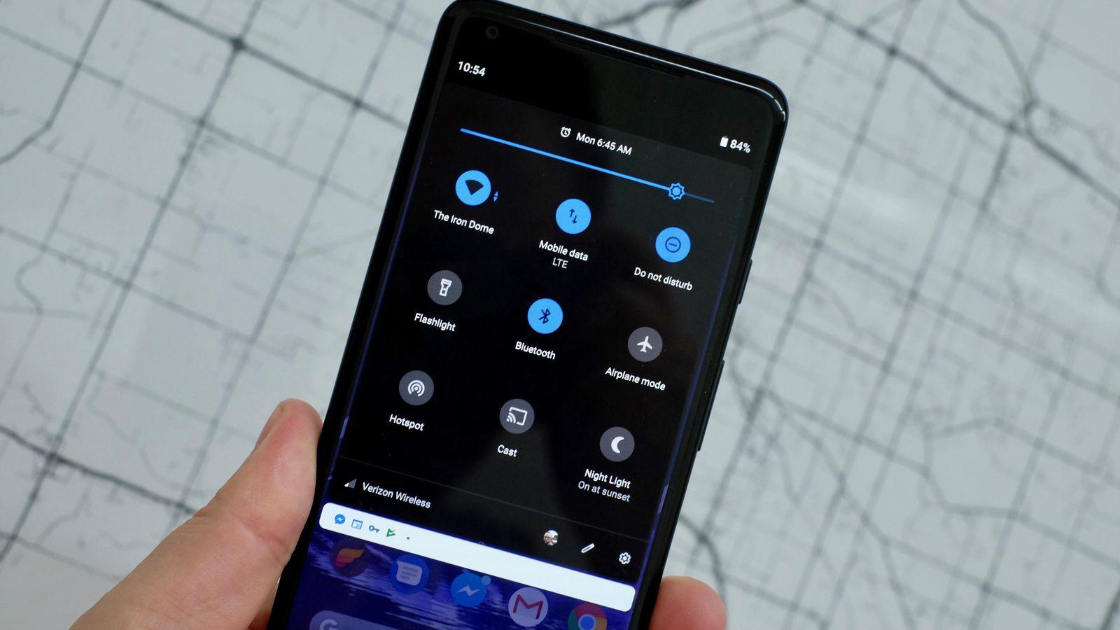 Android Q Dark Mode