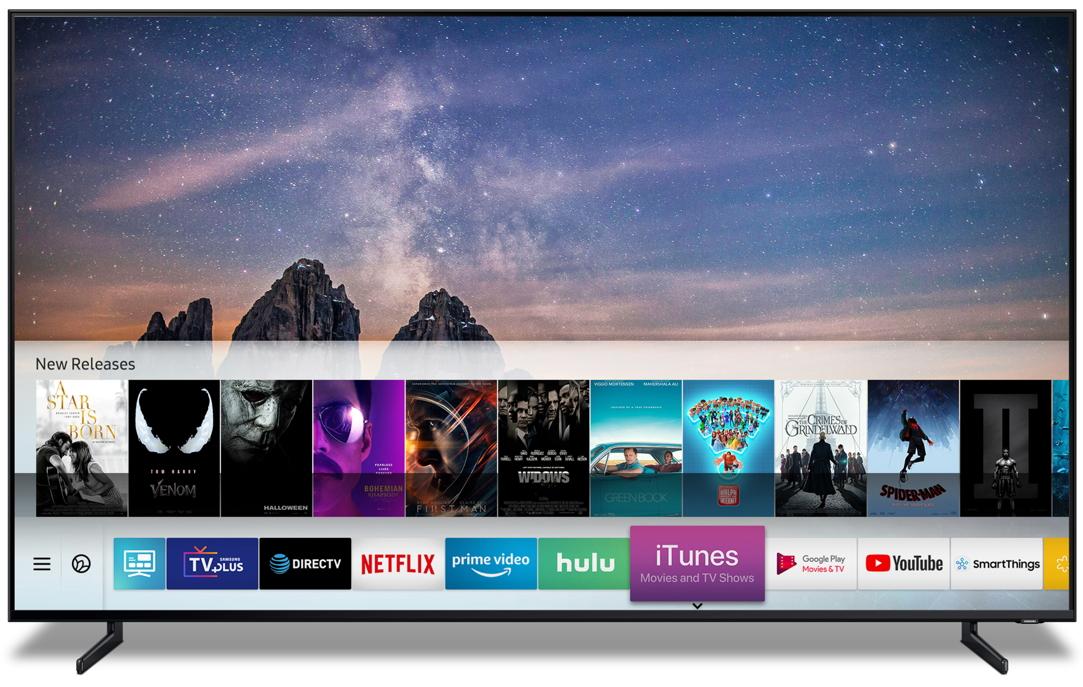 Apple slaat handen ineen Samsung Smart TV