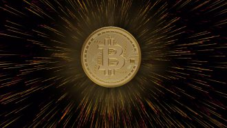 bitcoin burst