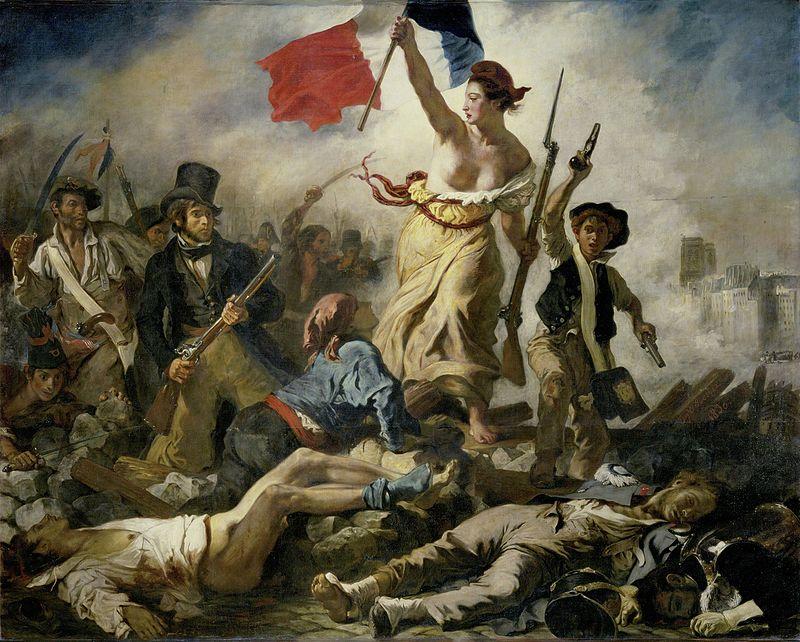 La Liberté guidant le peuple – Eugène Delacroix Bitcoin