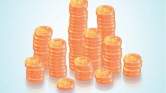 Bitcoin - Security System - Businessman
