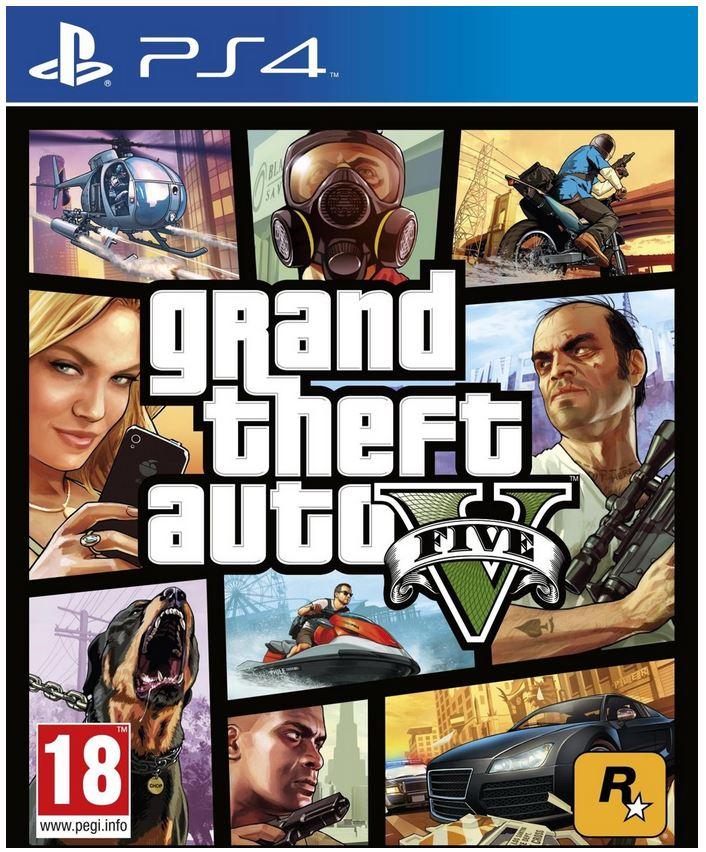 Grand Theft Auto V (GTA5) voor PlayStation 4