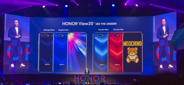 Honor View 20 preview presentatie