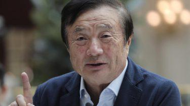 Huawei oprichter Ren Zhengfei ontkent spionage