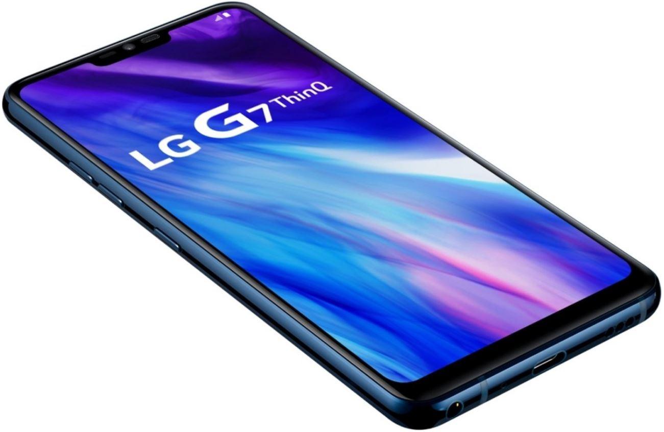 LG G7 64 GB Blauw