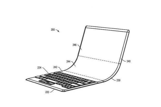 Lenovo opvouwbaar OLED Laptopscherm