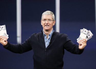 Tim Cook Apple CEO geld