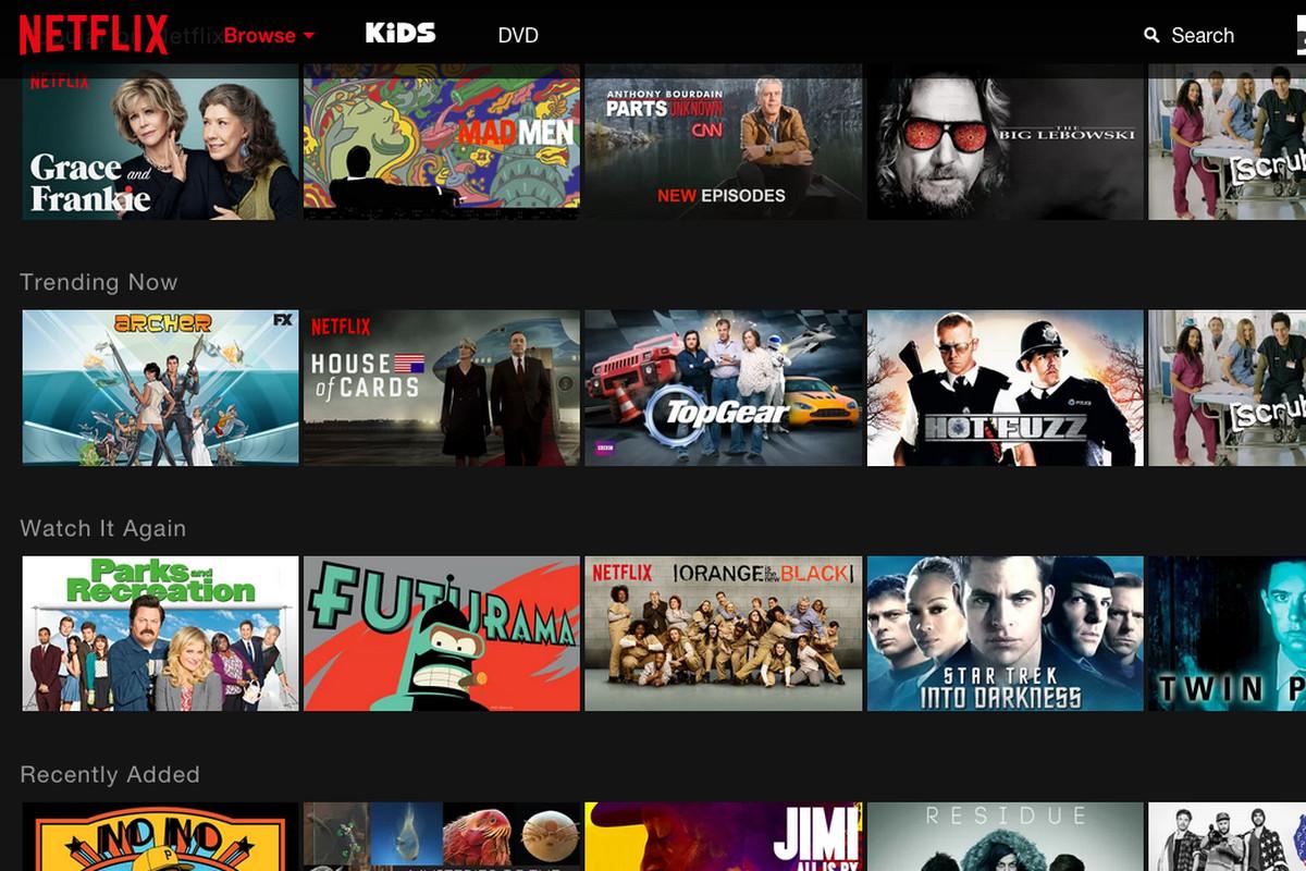 Netflix web extensie