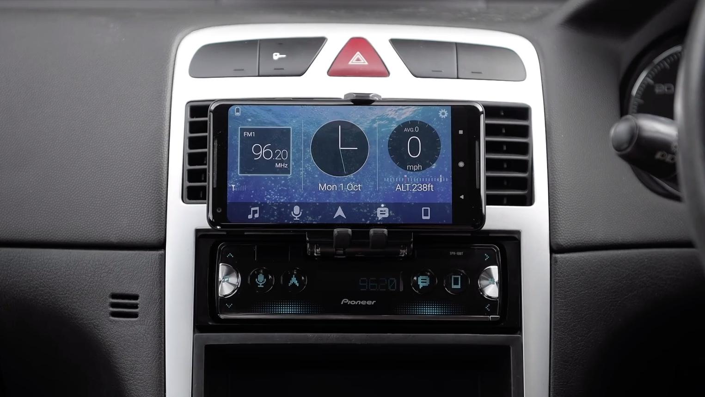 Pioneer SPH-10BT: je smartphone als autoradio