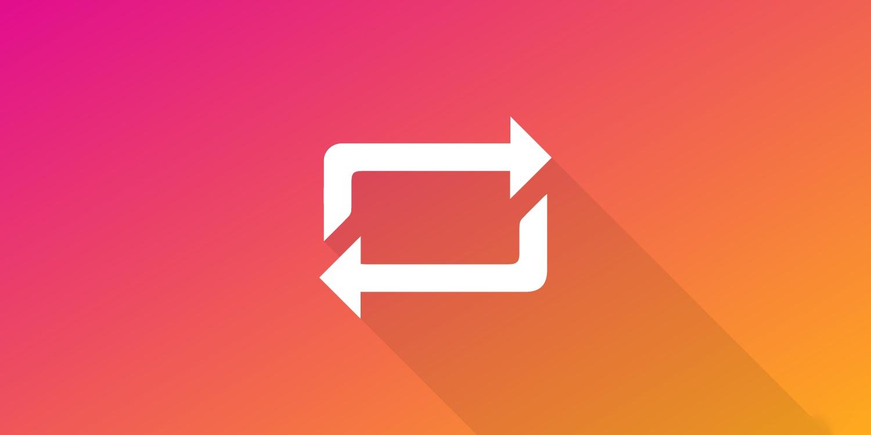 Regram functie Instagram