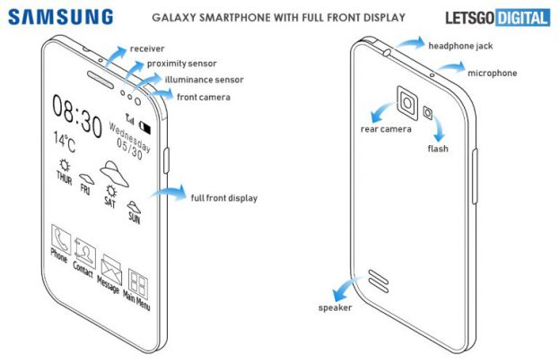 Patent Display Samsung Galaxy S10