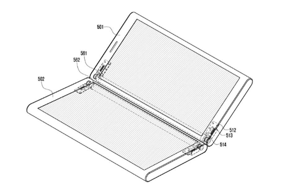 Samsung patent magneten