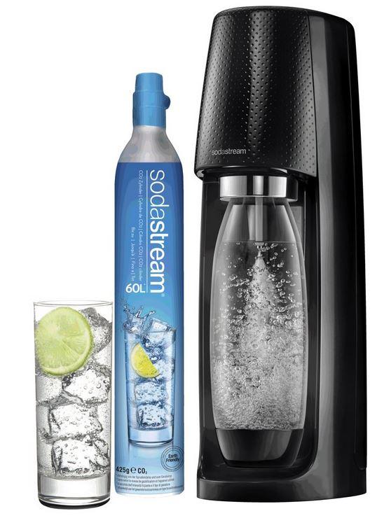 Sodastream Spirit Bruiswatertoestel Mega Pack Zwart