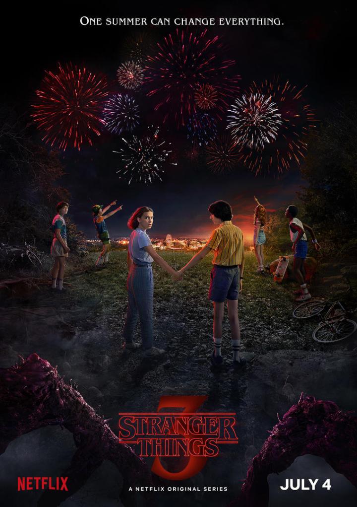 Stranger Things seizoen 3 poster