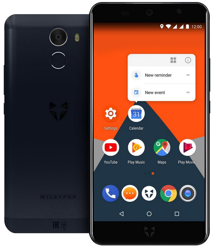 Wileyfox Swift 2X 32 GB Blauw