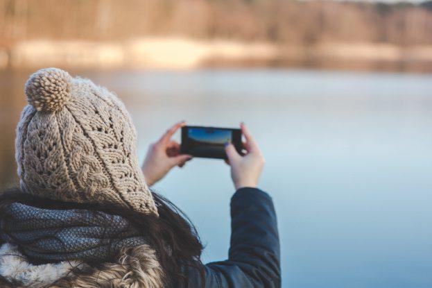 Smartphone batterij winter