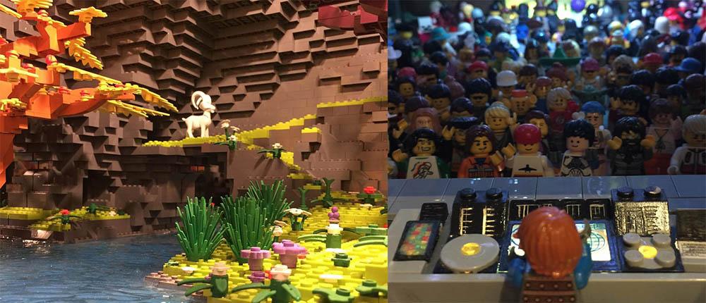 Lego muur Dante Dentoni