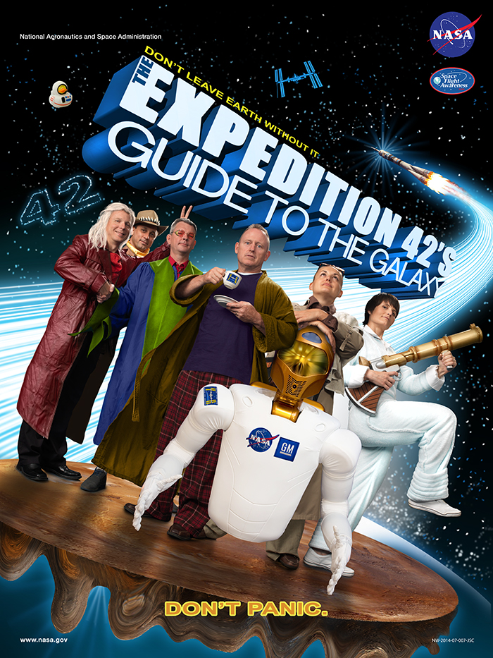 NASA Hitchhiker's Guide to the Galaxy