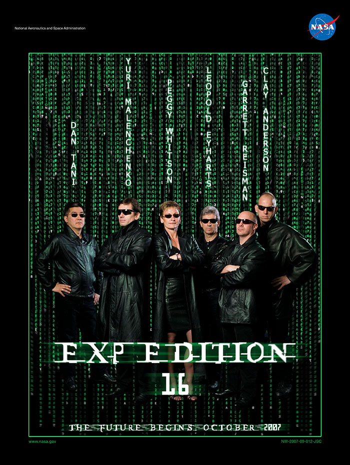 NASA The Matrix