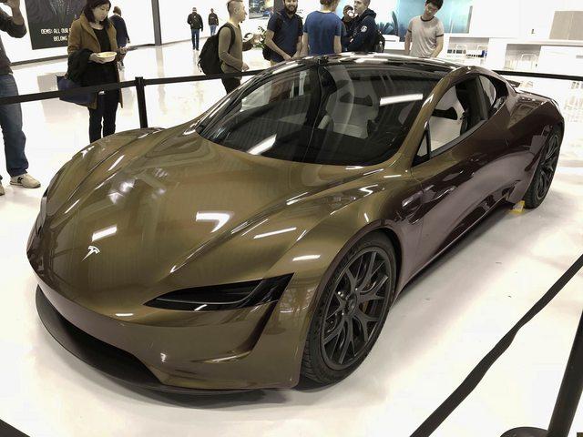 Tesla Roadster 2020 Elon Musk