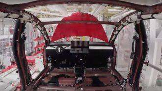 Tesla Model 3 productie