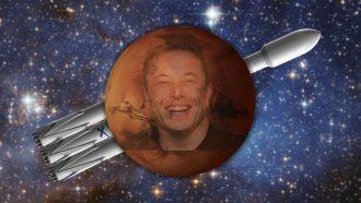 Elon Musk op Mars SpaceX, Falcon Heayy