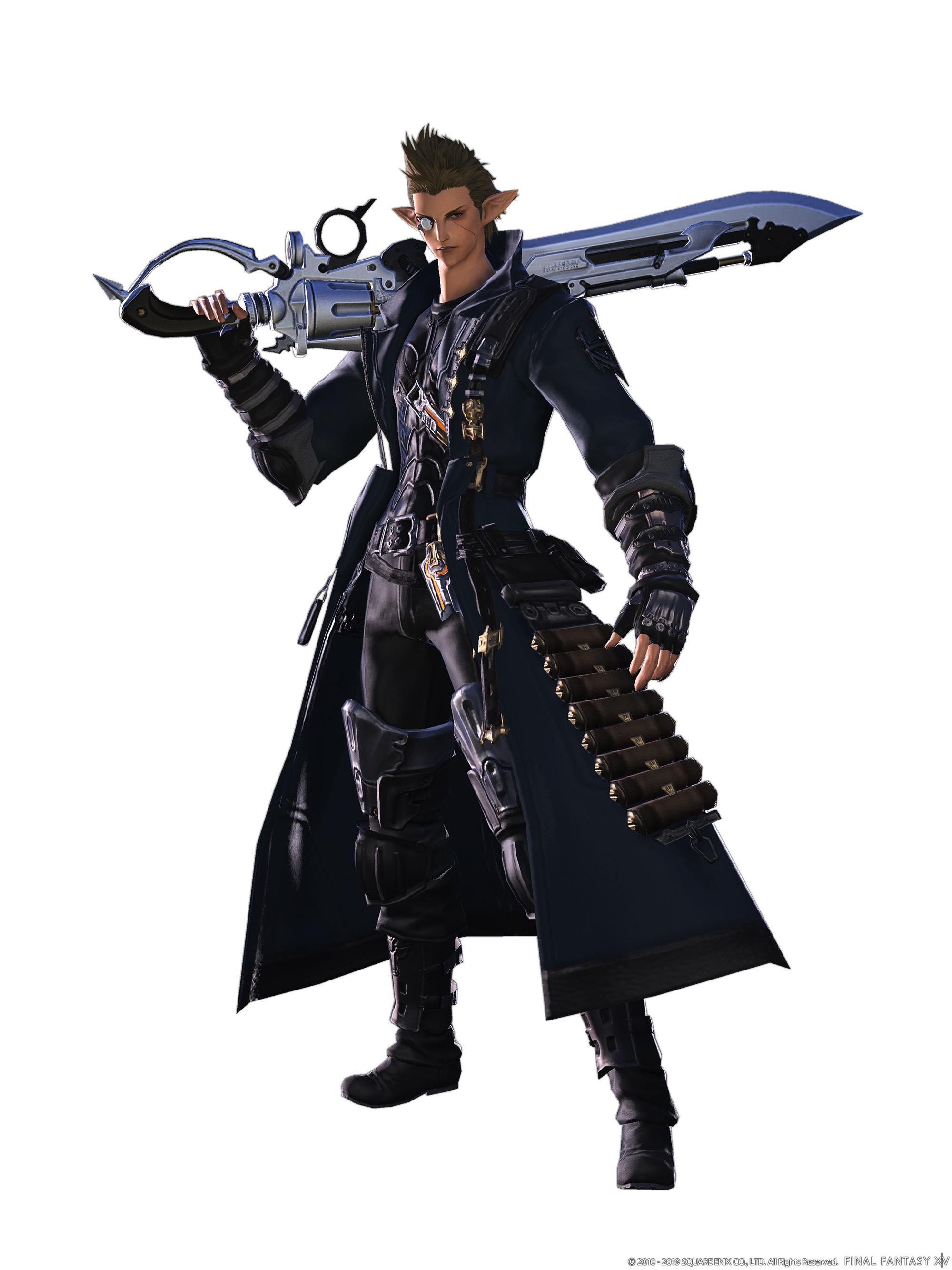 Final Fantasy XIV Gunbreaker