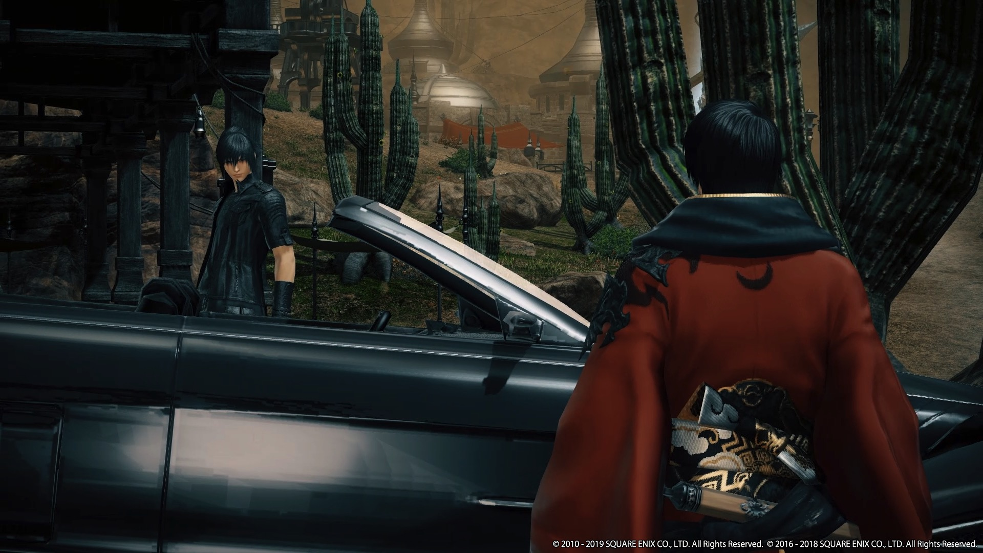 Final Fantasy XV in Final Fantasy XIV