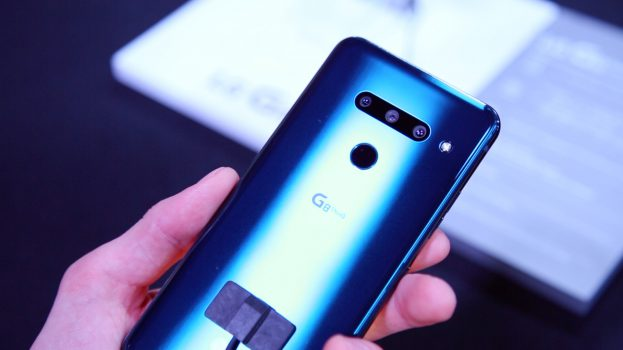 LG G8s ThinQ preview camera