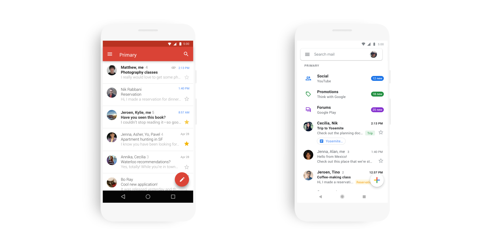 Google Gmail app iOS