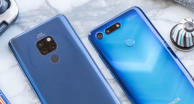 Honor View 20 vs Huawei Mate 20 camera